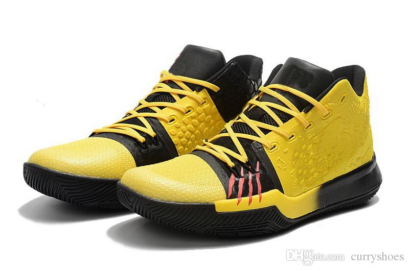 best service 5349d 2eec5 New kyrie #3 bruce lee for sale Free Shipping With Box Irving 3 Mamba  Mentality Basketball shoes store US7-US12