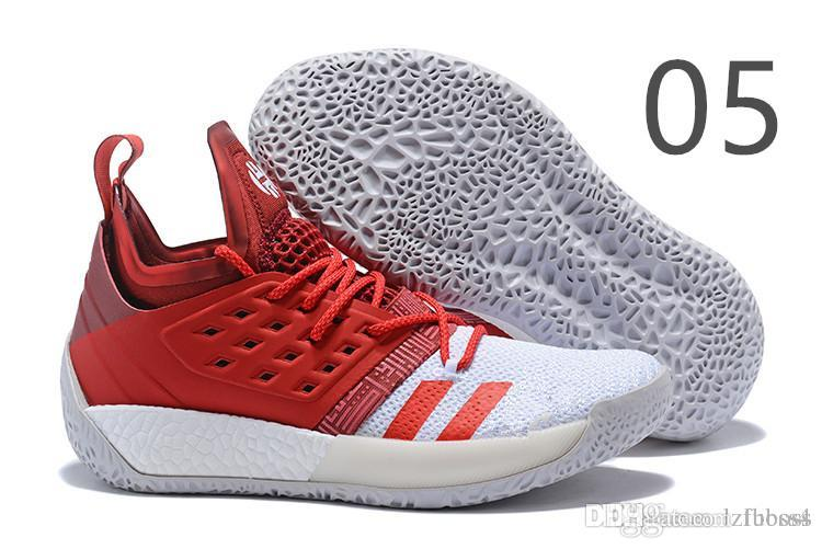 34bda2cf9b07 Cheap 2019 NEW Sale James Harden Vol 2 Basketball Shoes Black Blue White  Grey Mens Harden Vol.2 Sneakers SIZE US7-11.5 LUBOSS4