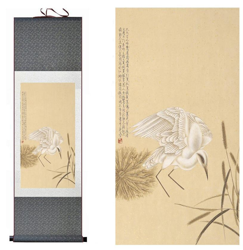 Spring Flower Painting Home Office Decoration Chinese Scroll Painting Flower Art Painting Chinese Paintingprinted Painting2019061523