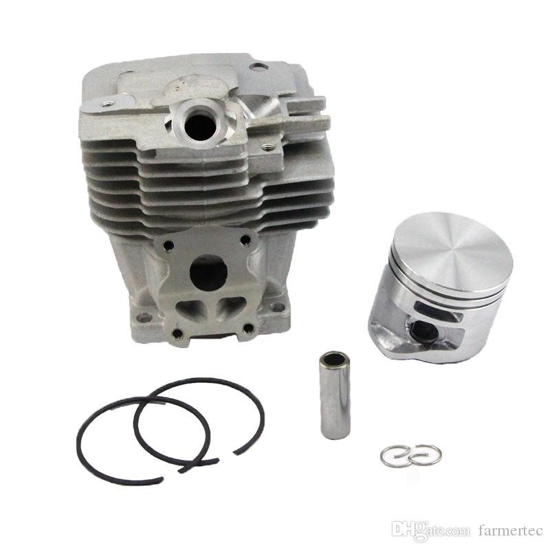 50MM Piston Cylinder Kit Fits Stihl MS441 Chainsaw 1138 020 1201 Standard  Bore By Farmertec