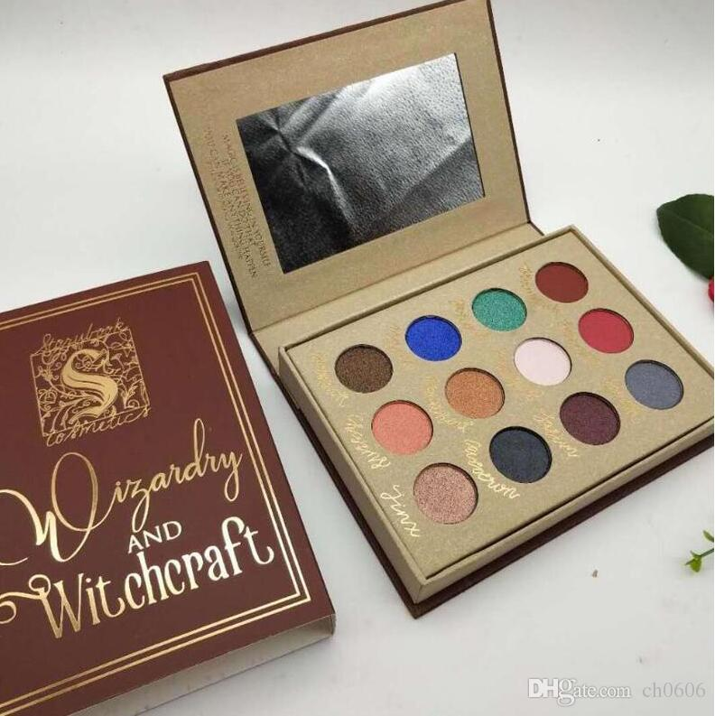 2019 Storybook Cosmetics Wizardry And Witchcraft Eyeshadow Palette Harry Potter Storybook Mean Girls Burn Book Eyeshadow Palette Purple Eyeshadow Cheap ...