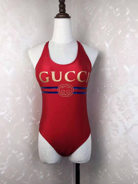 fbdd9bd91e 2019 2019 Hot Sale Gc Designer Red Fashion Cross Sling Letter Print Swimwear  Bikini For Women Swimsuit Sexy Bathing One Piece Suit S XL From Juan2019,  ...