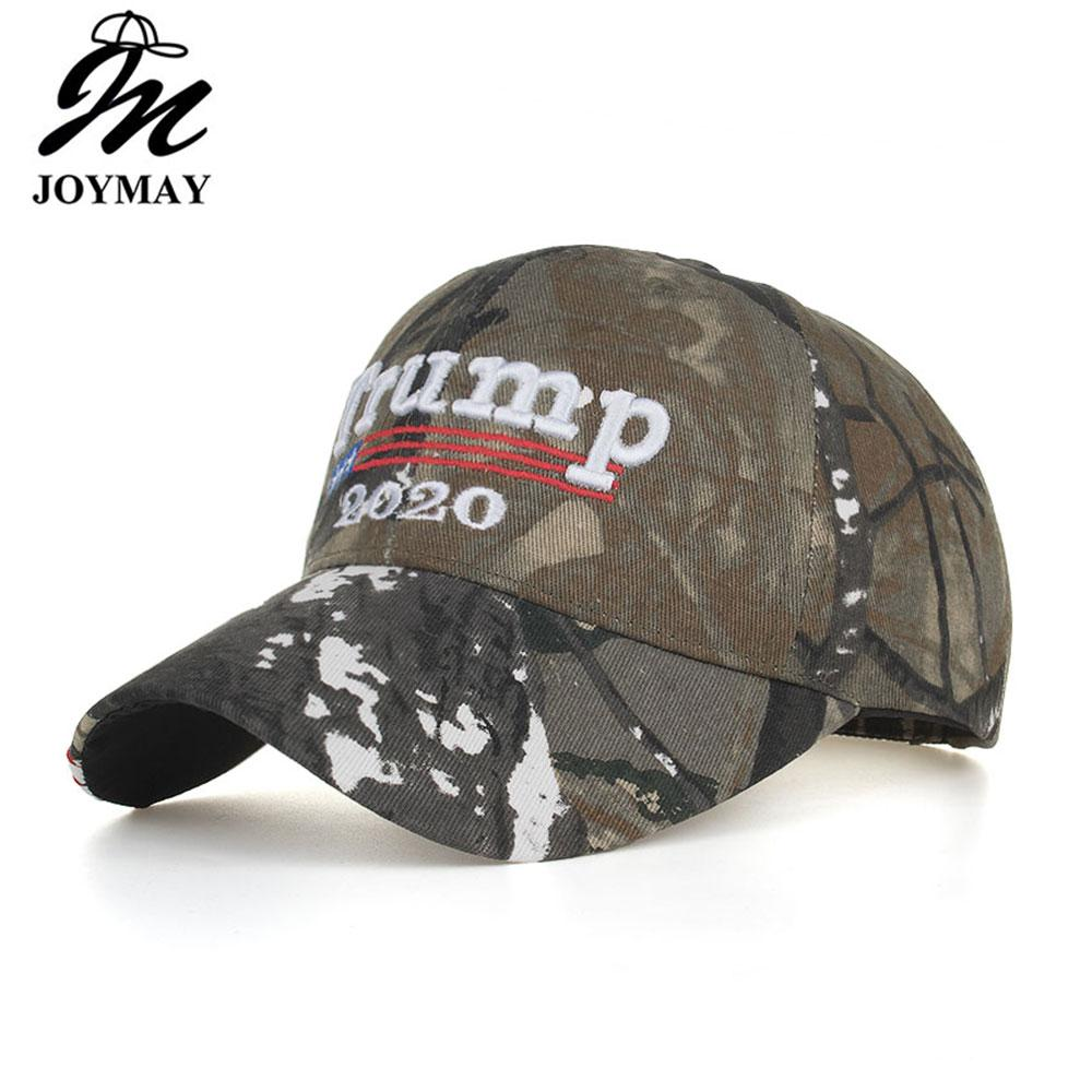 bd34fae9809 Donald Trump 2020 Cap Camouflage USA Flag Baseball Caps Keep America Great Snapback  Hat 3D Embroidery Star Letter Camo Army B622 Hat Store Ny Cap From ...