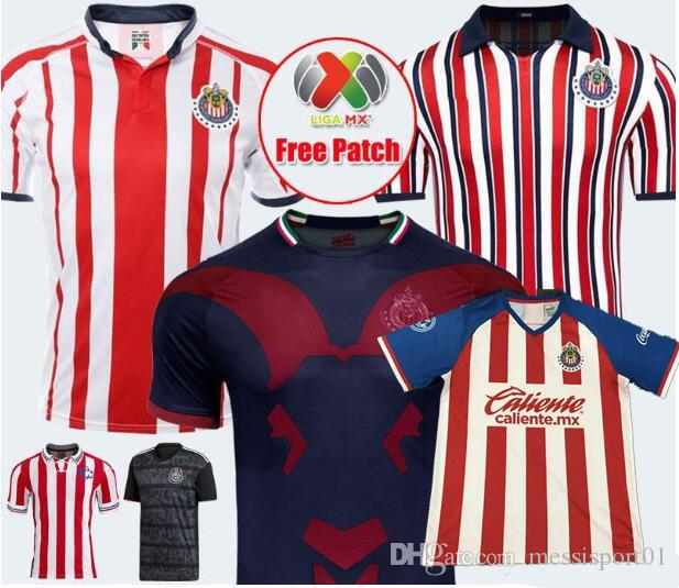huge selection of 7640a d2b0e 2019 2020 Mexico Club Chivas de Guadalajara Third Soccer Jersey Liga MX New  Arrived 19/20 Chivas Jerseys A.PULIDO Football Shirts