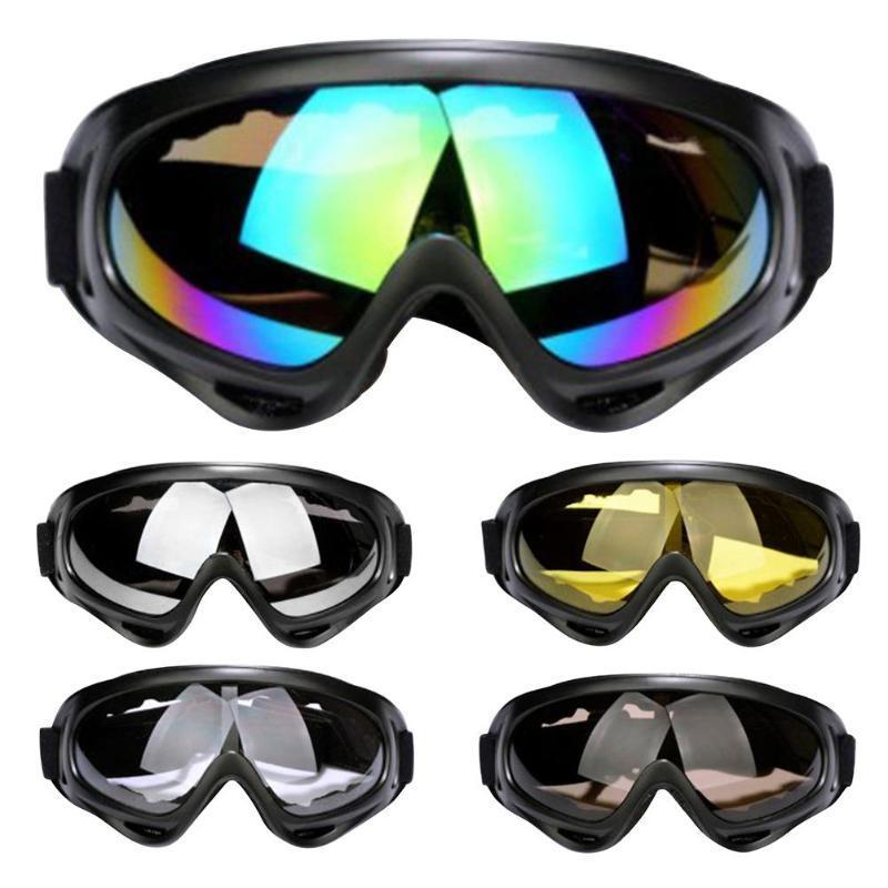 88f61063cd8a4 Compre Esporte Ao Ar Livre UV400 Óculos De Proteção De Esqui Anti Nevoeiro  Poeira Vento UV Ski Capacetes De Neve Óculos Óculos De Ciclismo Óculos De  Sol De ...