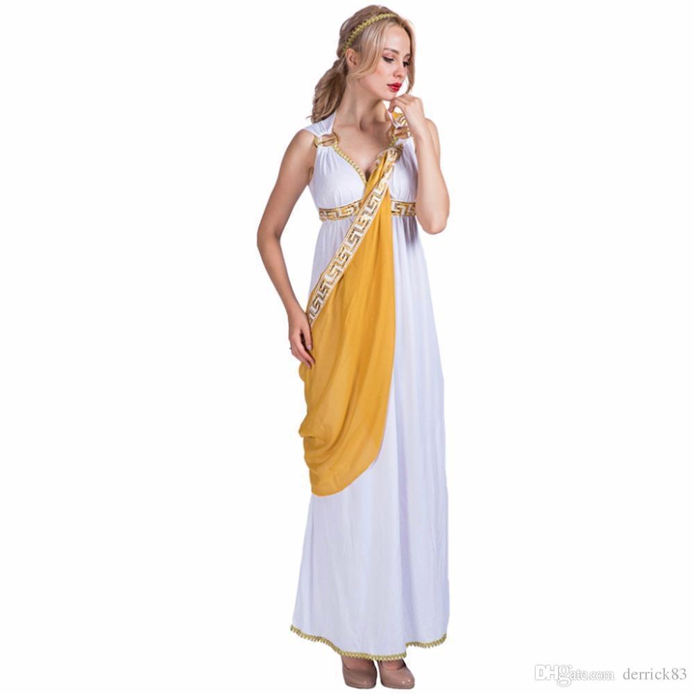 Adult costume roman woman more