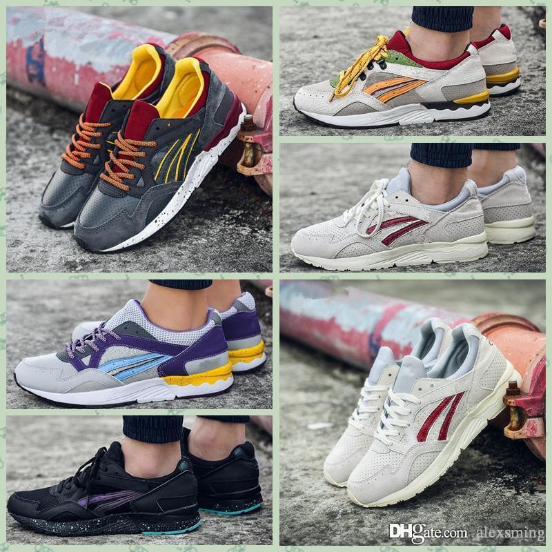 Asics Gel Lyte V 2019 Gel Lyte Vs H519L 1611 Hombres Zapatos Mujeres Zapatos para correr Entrenamiento deportivo de calidad superior Zapatillas de
