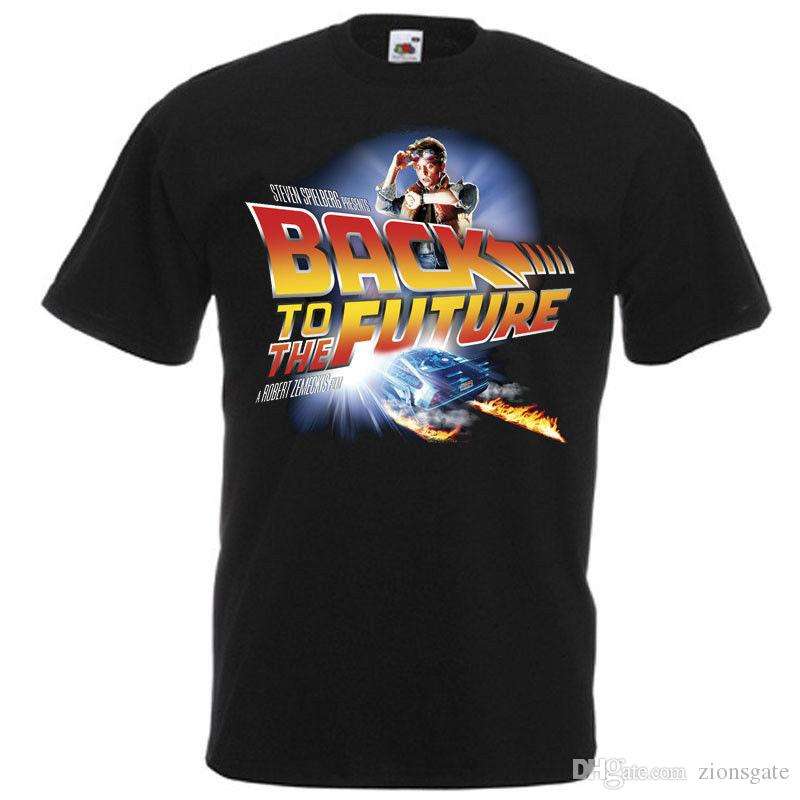 357027629 Back To The Future V5, Movie Poster, T Shirt BLACK All Sizes S 5XL Dirty T  Shirts Graphic Tee Shirts From Zionsgate, $10.82| DHgate.Com