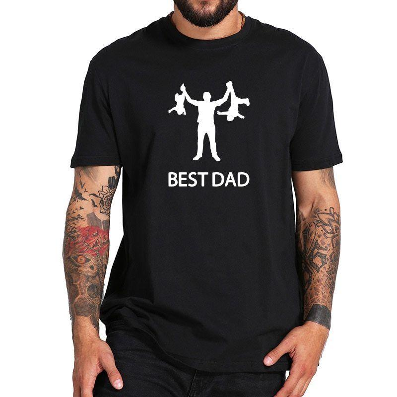 3099aee83e Best Dad Fathers Day Gift Papa Birthday Holiday T Shirt Men Humor Funny  100% Cotton T Shirt Trump Sweat Sporter T Shirt Tee Shirt Deals Online  Shopping Tee ...