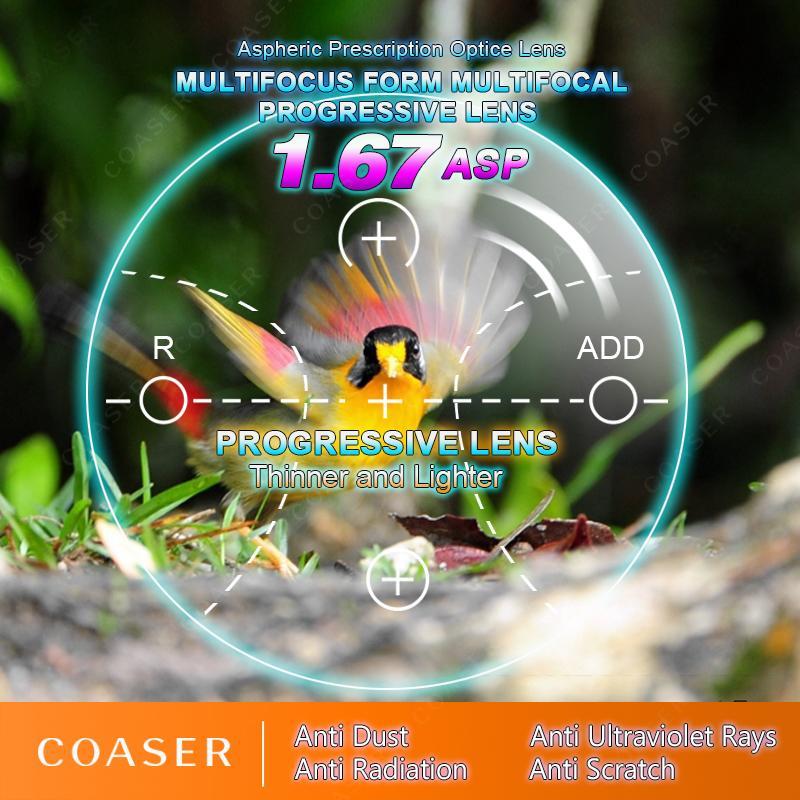 Acheter Formulaire Libre Multifocal 1,67 Verres Photochromiques À Transition  De Lentille Progressive, Lecture Sur Ordonnance De Lunettes Optiques ... b7c5be5aacc4