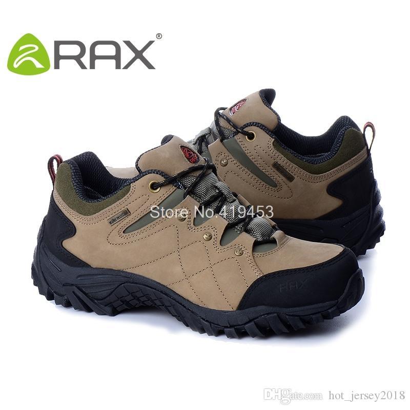 37e9e9d04860c Satın Al Rax Sıcak Satış Erkekler Yürüyüş Ayakkabıları Su Geçirmez Kaymaz  Açık Tırmanma Ayakkabıları Nefes Ayak Koruma Trekking D0624 # 308870, ...