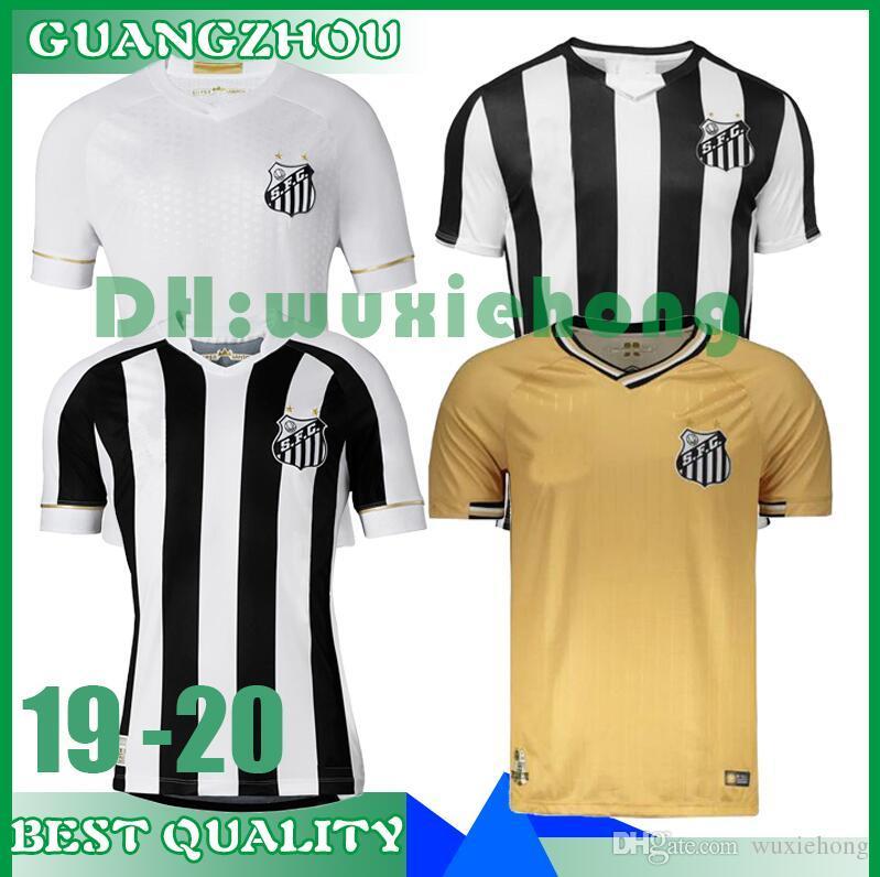 099785f41ab Nuevo 2019 2020 Santos FC Camiseta De Fútbol De Primera Calidad 19 20 Santos  Hogar Lejos Gabriel RODRYGO DODO RENATO SASHA Camisetas De Fútbol Uniformes  ...
