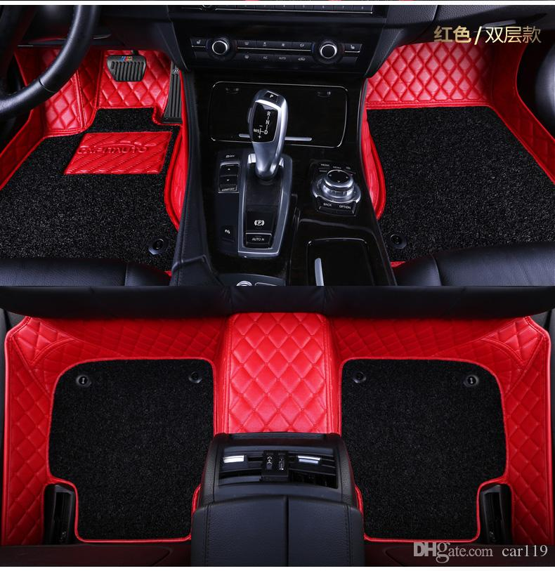 Custom fit car floor mats for Suzuki Alto Jimny Swift SX4 S-cross 3D Auto parts car styling heavy duty all weather carpet floor liner