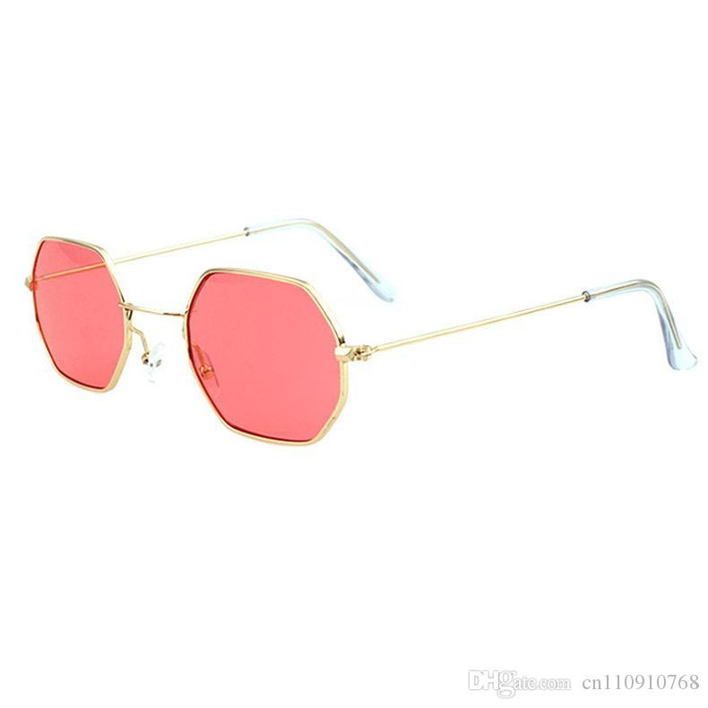 e9b1ce5db ATB01 Hexagon Sunglasses Brand Designer Glasses Gold Frame Hipper Metal  Frame Transparent Temple End BOTERN EYEWEAR Worldwide Circle Sunglasses  Glass Frames ...