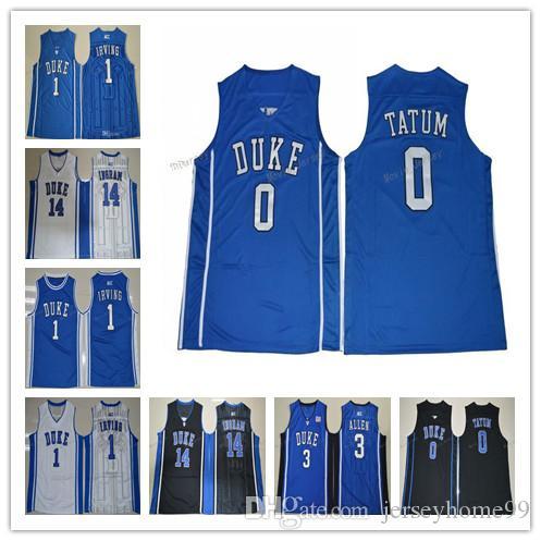 6056ead4 Duke Blue Devils College Jerseys 1 Kyrie Irving 1 Harry Giles 3 ...