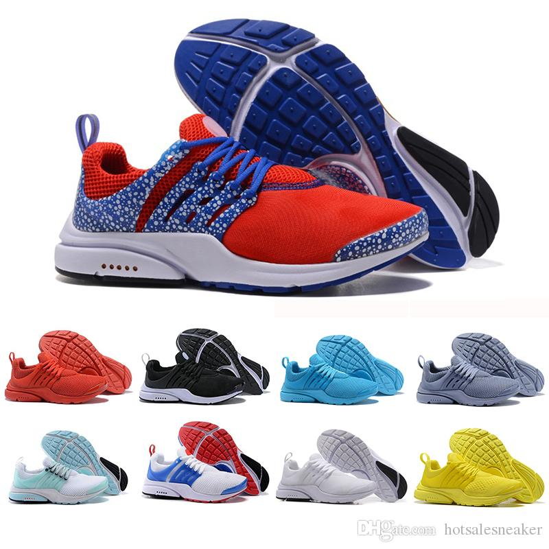 04baeba16a1dc 2019 New Presto Running Shoes Men Women Ultra BR QS Yellow Prestos Black  Air White Oreo Outdoor Jogging Mens Trainers Designer Sneaker 36 45 Running  Shoe ...