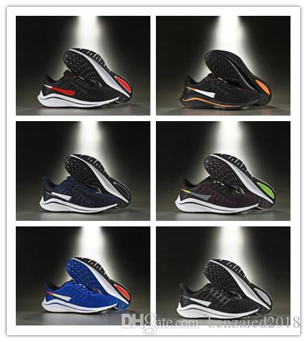 detailed look 49392 7e7fa 2019 New Arrive Zoom Pegasus Turbo Black White Blue Sneakers Mesh Womens  React ZoomX Vaporfly Pegasus V14 Mens Running Shoes Size 40-45