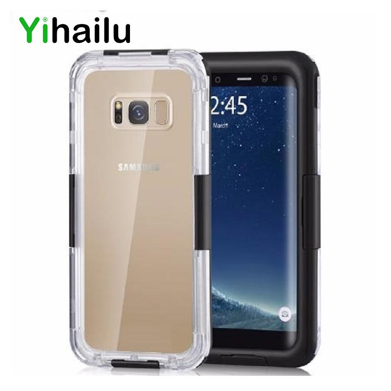 differently d8afe 5ac0f Waterproof Case For Samsung Galaxy S8 Plus Hybrid Swimming Dive Water Shock  Proof Cover Outdoor Phone Case For Samsung S8 S8+ C18112001