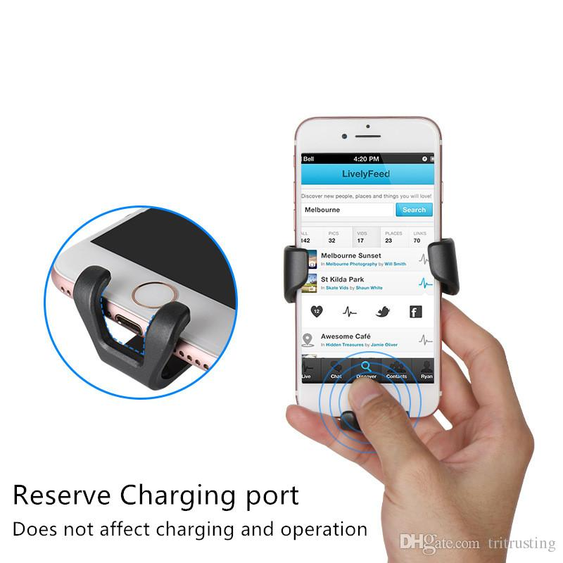 Gravity Car Holder For Phone in Car Air Vent Clip Mount No Magnetic Mobile Phone Holder Cell Stand Support For smartphones MQ50