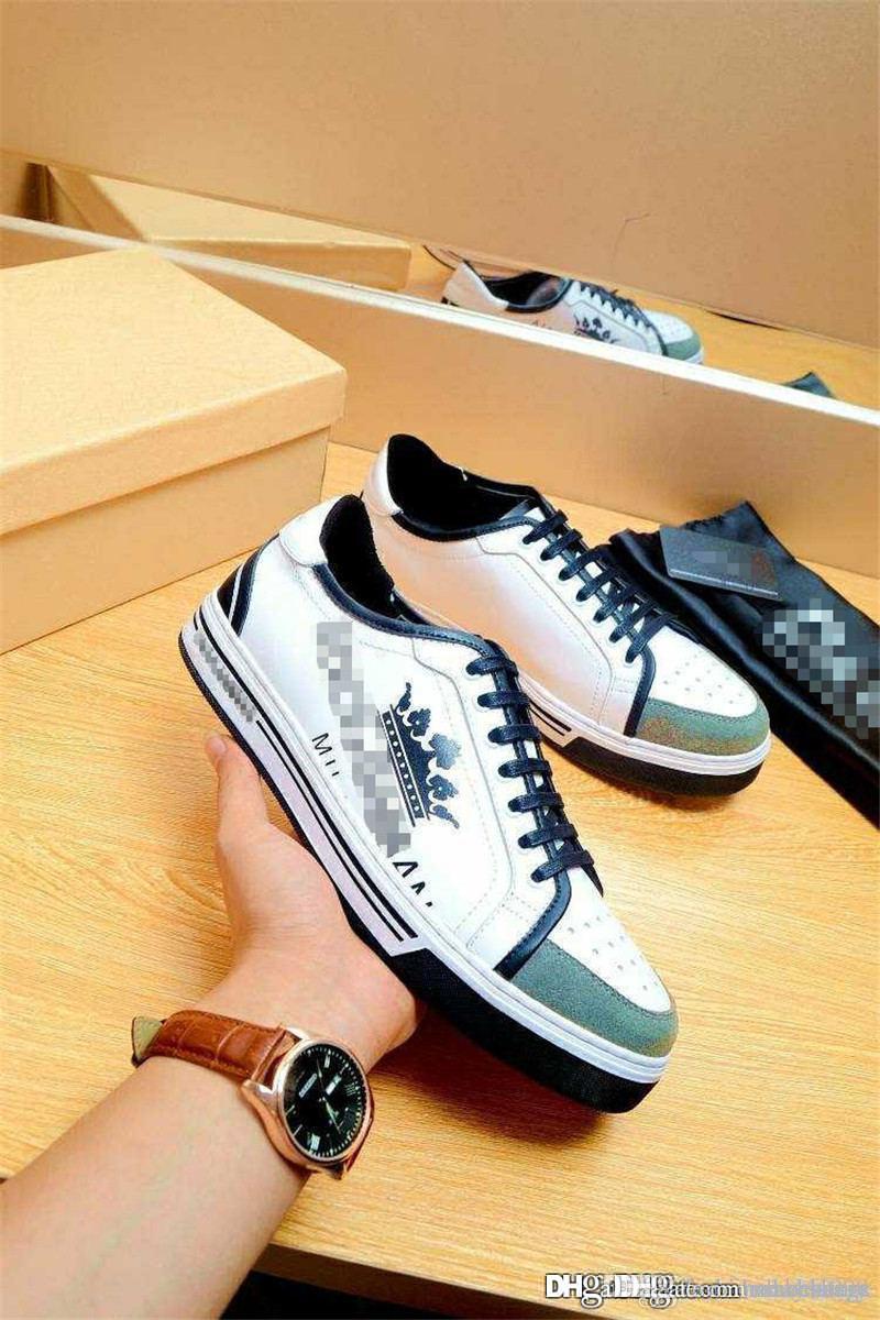 b1206ae93e Compre 2018 Chegam Novas DOLCE GABBANA D.G Branco Chapéu Do Rei Sapatilhas  Sapatos Casuais Com Caixa De Dakeai999