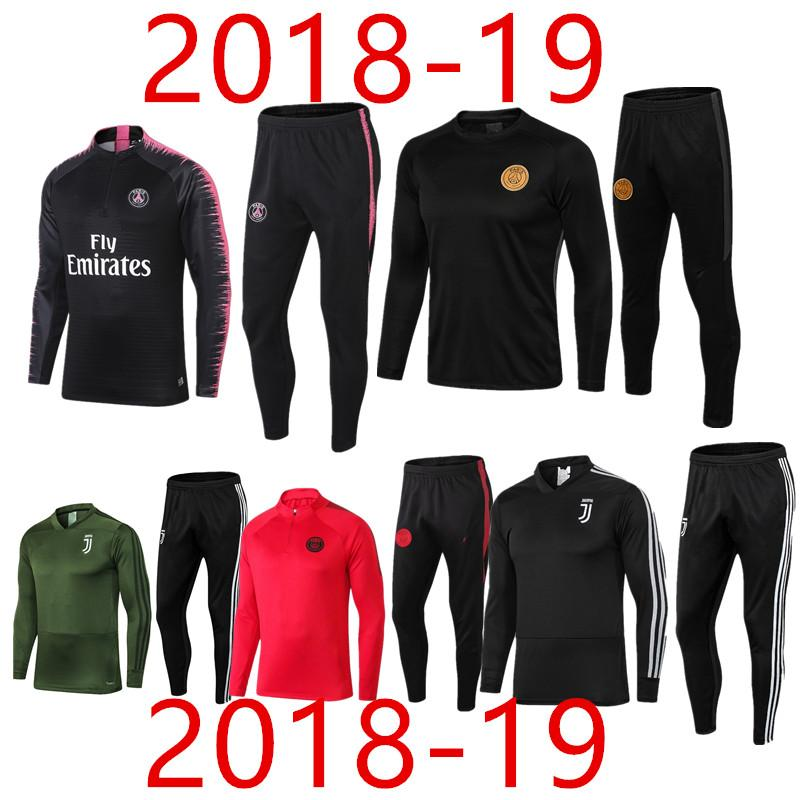 Champions League Psg Juventus Mens Tracksuit Survetement 2018 19 Mens  Tracksuit Real Madrid FR Soccer Tracksuit Sets Jacket MBAPPE VERRATT UK  2019 From ... 203046aefcad5