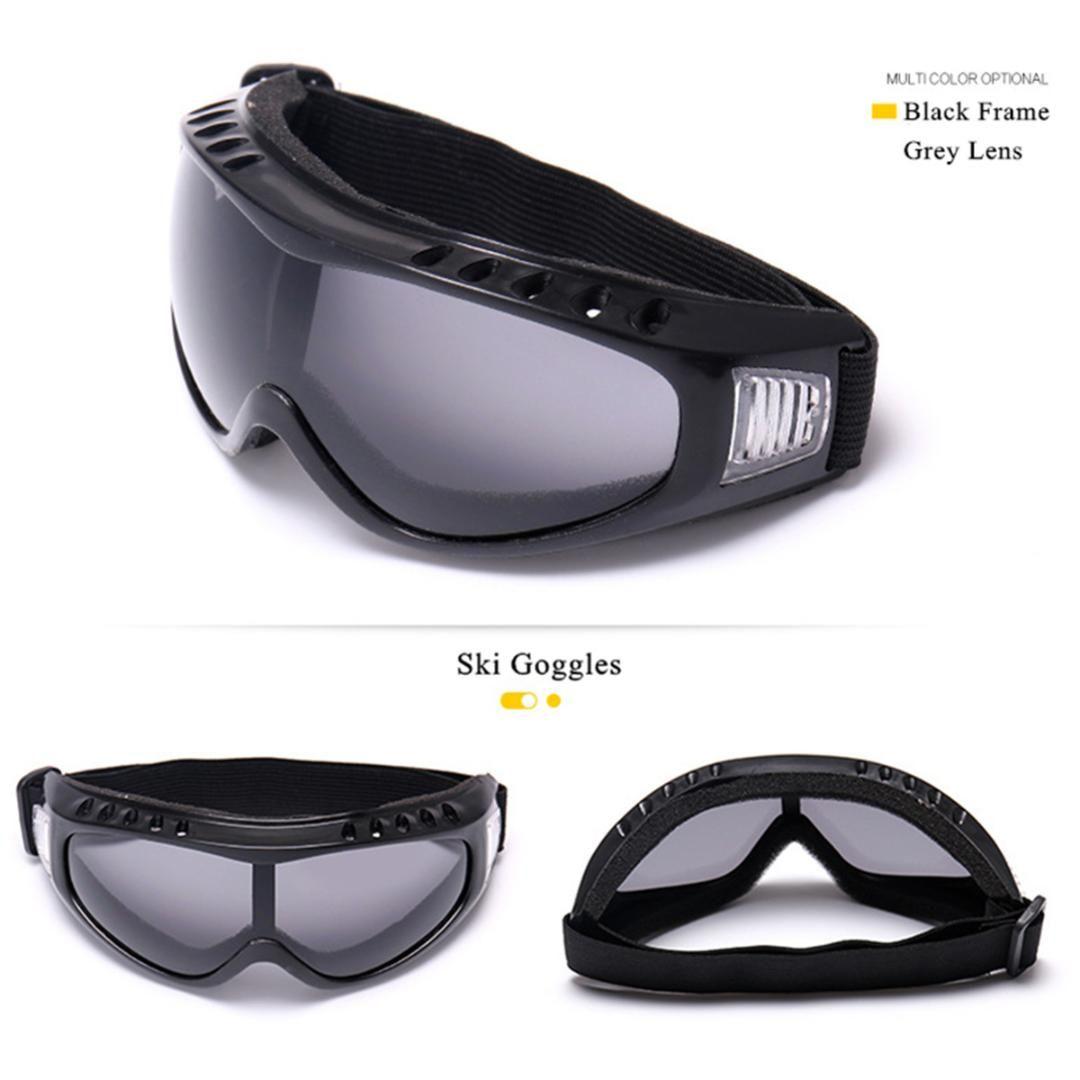 e4a27ba047d 2019 Skiing Snowboarding Goggles Snow Ski Sun Double Spherical Lens ...