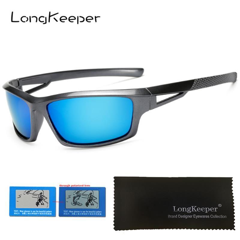 738a5cb8245 LongKeeper Fashion Men Polarized Sunglasses Women Stylish Sun Glasses Male  100% UV400 Polarized Driving Goggle Style Eyewears Electric Sunglasses  Fastrack ...