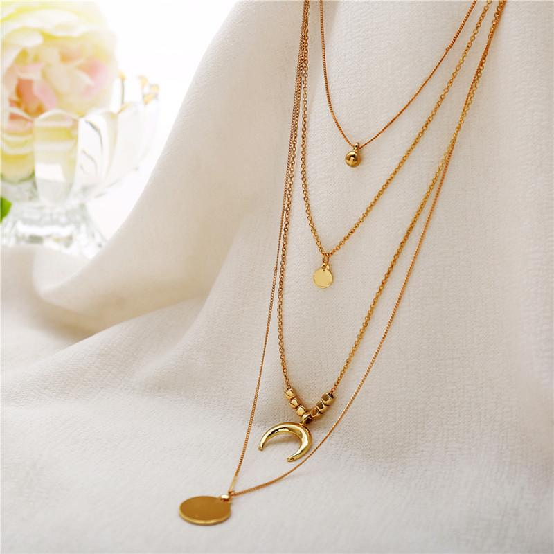 SE YOU Simple Multilayer Charm Simulato Collana di perle le donne Vintage Beads Choker Collane Wedding Party Jewelry 2019 Nuovo