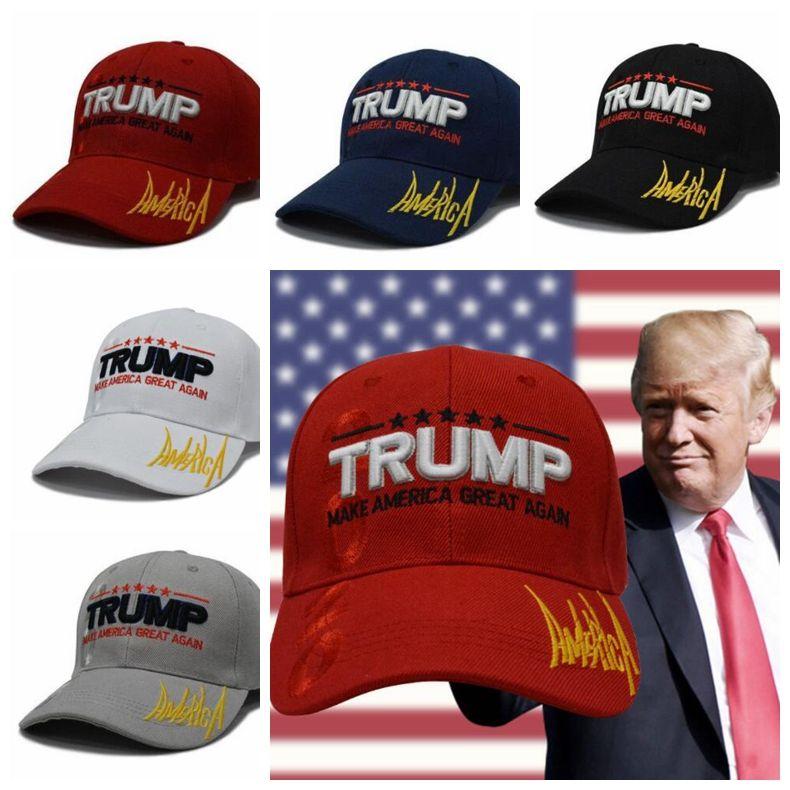 9cb02a5939923 MAKE AMERICA GREAT AGAIN Print Trucker Caps Donald Trump Men Women High  Quality Flat Snapback Hats Baseball President Cap KKA6344 Funny Birthday Hats  For ...