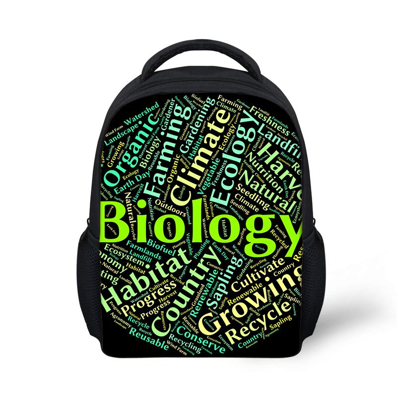 f3e4cb01062c Customized Biology Letters Theme Backpacks School Bags Boys Girls School  Supplies Junior Printing Bag Mochilas Escolares Backpack With Wheels Dakine  ...
