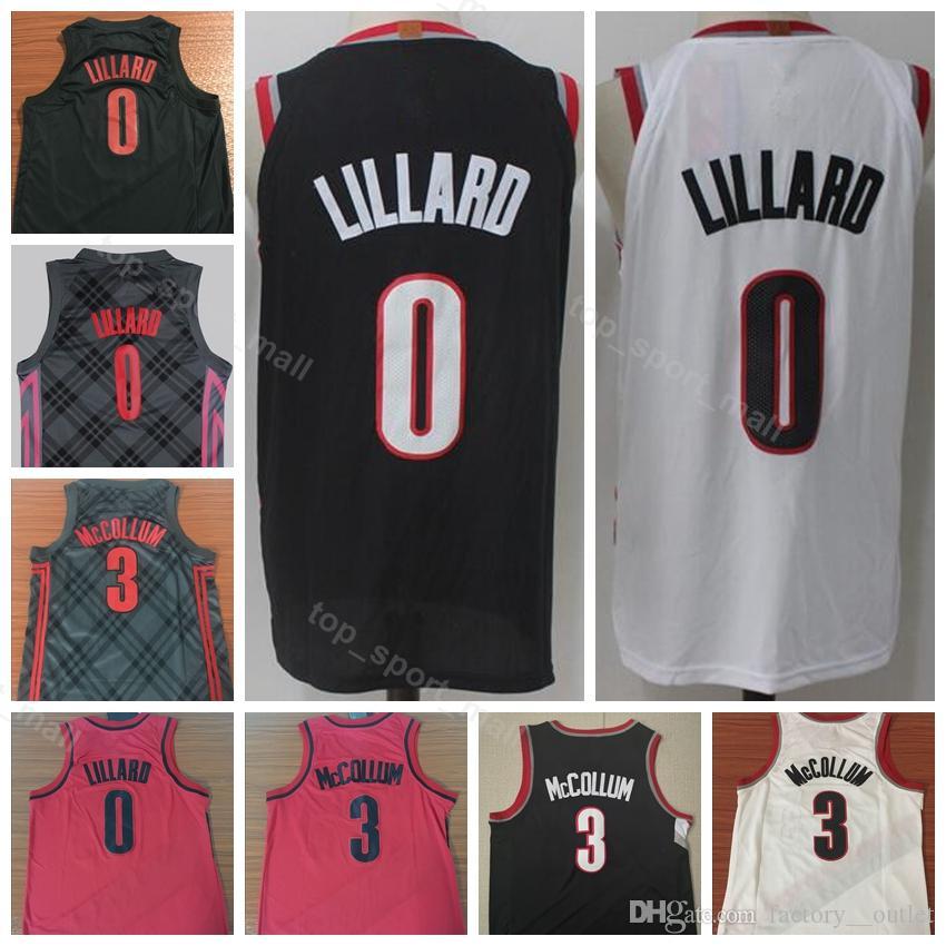 701a46474 2019 2019 City Earned Edition Damian 0 Lillard Jersey Men Sale Basketball CJ  3 McCollum Clyde 22 Drexler Ripcity Rip Red White Black Uniform From  Vip sport