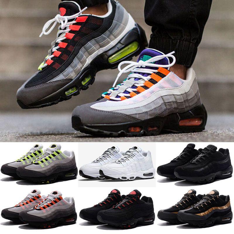 ef32db37 Compre 2019 Nuevo Ultra 20th Maxes Aniversario 95 Mujer Hombre Zapatillas  95s Hombre Entrenadores Tenis Zapatos Zapatillas De Deporte Tamaño 36 46 A  $101.16 ...