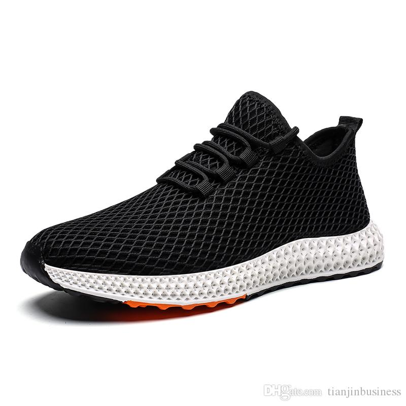 Fall Winter Fabric Sneakers Breathable Casual Shoes Mesh Flats Sneaker Running Man Outdoor Shoes