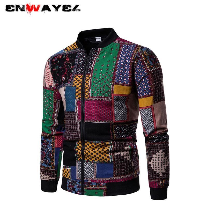 Enwayel Abrigo Vintage 2019 Hombres De Compre Otoño Primavera Tzddqv