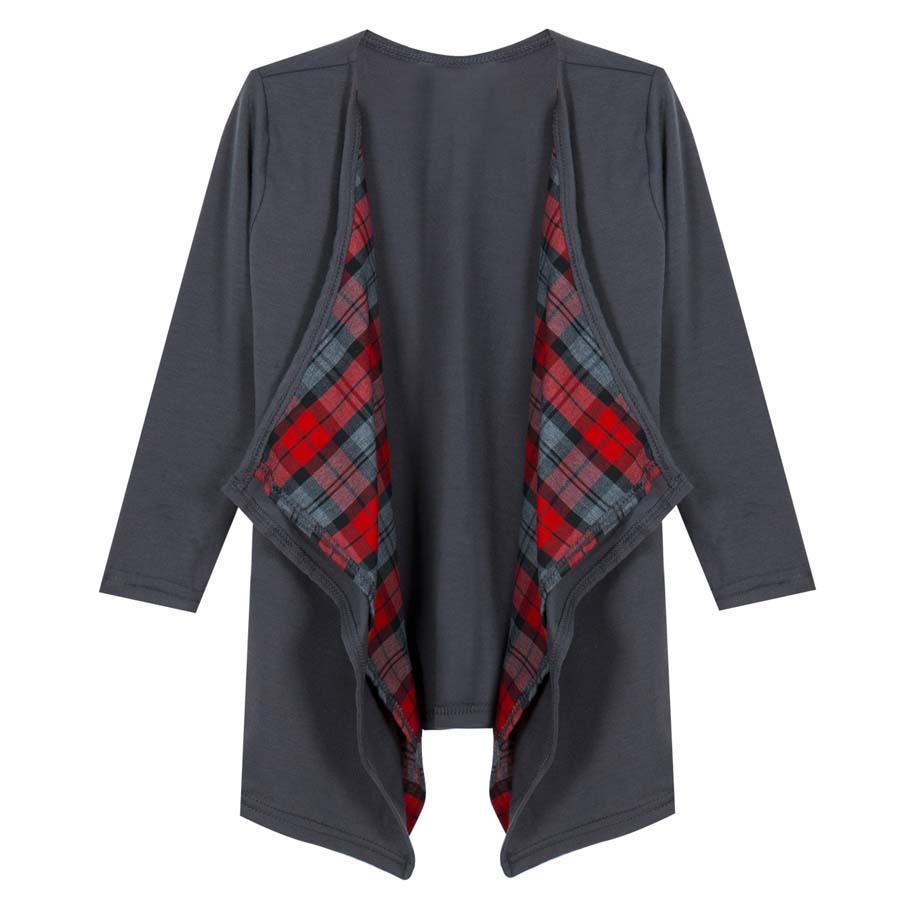 Mutter Baby-Kind-Familien-Kleidung Trench-beiläufige lange Hülsen-Plaid-Kleidung Outwear Mantel Comfort Frauenkleidung Feder Kleidung