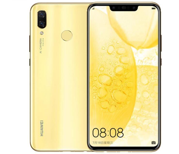 Original Huawei nova 3 6GB 128GB Android 8 1 Mobile Phone Kirin 970  Qcta-core Dual Front Back Camera 24 0MP+2 0MP 24 0MP+16 0MP