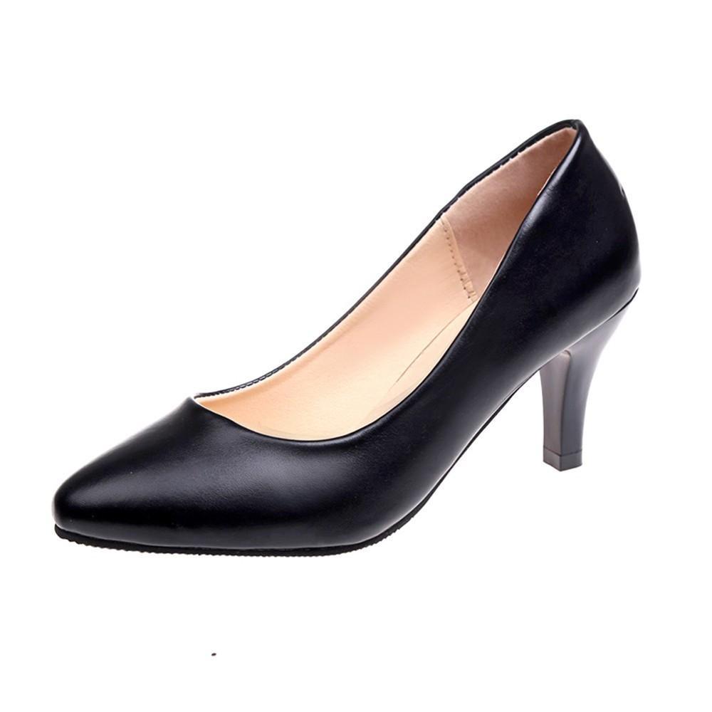 e3c780e2ff8 Compre Zapatos De Vestir De Diseñador Youyedian Damas Individual Para  Oficina Tacones Altos Bombas Tobillo Slip On Verano De Tacón Alto Mujer  Punta Estrecha ...