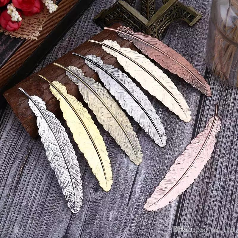 Grosshandel Metall Feder Lesezeichen Chinesischen Stil Vintage Seite