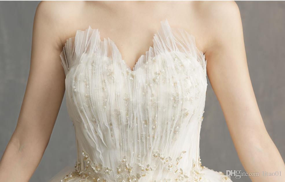 Limpieza de un vestido de novia