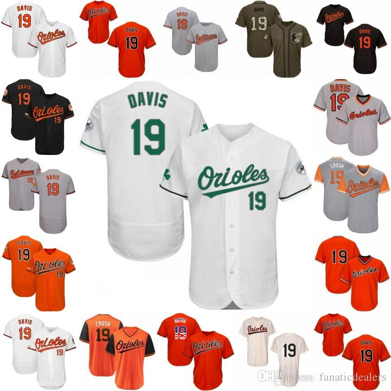 ddb8cc776 2019 19 Chris Davis Jersey 2019 Baltimore Customized Any Name Number Home  All Stitched Men Women Youth Baseball Jersey S 4XL From Fanaticdealers, ...