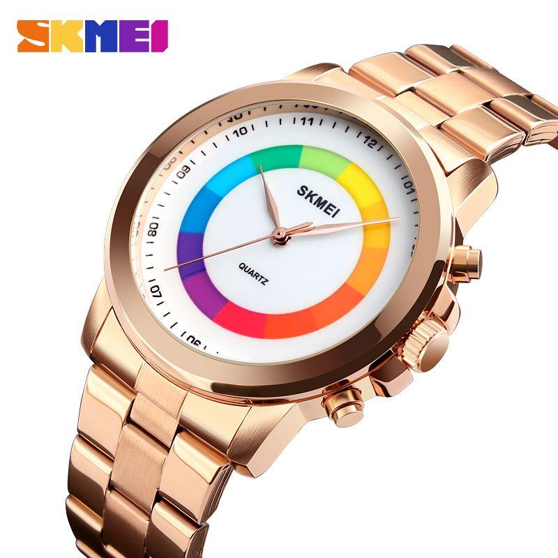 99641024a3c9 Compre Skmei Relojes De Cuarzo Para Hombre