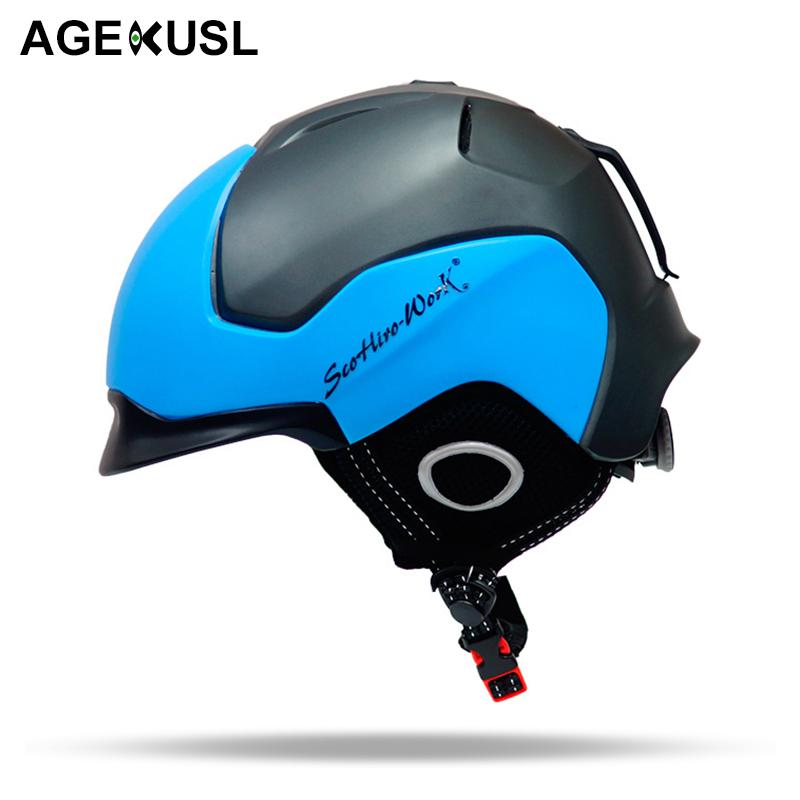Sports & Entertainment Lower Price with Ski Helmet With Safety Certificate Integrally-molded Snow Snowboard Helmet Winter Sports Skiing For Men Women Safety Helmet Skiing & Snowboarding