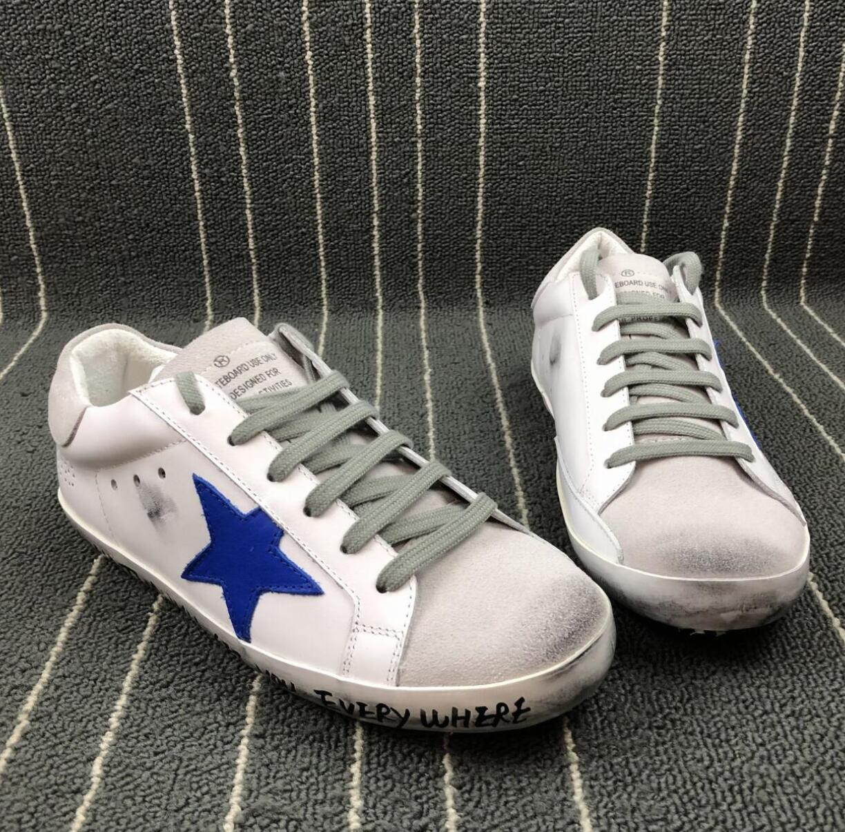 de80309d2149 Sale Sneakers Geox Dquhfu 9 R Shoes For 79bhmen Women Golden Goose Ggdb Old  Dirty Style Sneakers Black White Genuine Leather Casual Shoe Green Shoes  Most ...