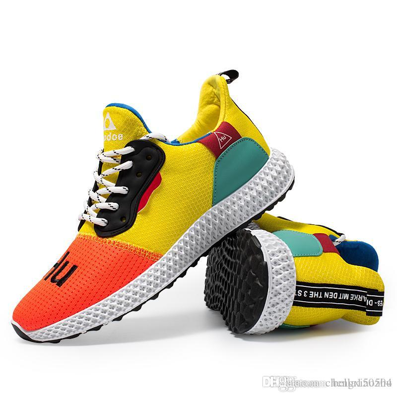 63ee679703a7 Wholesale Online Human Race Pharrell Williams X N.MD Sports Running Shoes  Athletic Mens Shoes Designer Sneakers Trainer Office Shoes Running Shoes  From ...
