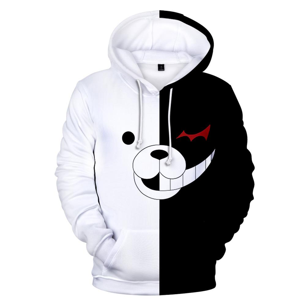 ae1c169b4 2019 3D Monokuma Hoodies Men Fashion Women Sweatshirt 3D Hoodie Pullovers  Print Monokuma Hoodies Men Winter Clothing From Luhaluha, $30.08 |  DHgate.Com