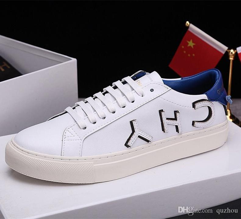 a16a3a2e4 Купить Оптом Высококачественная Мужская Обувь 19ssGIVENCHY Низкие ...