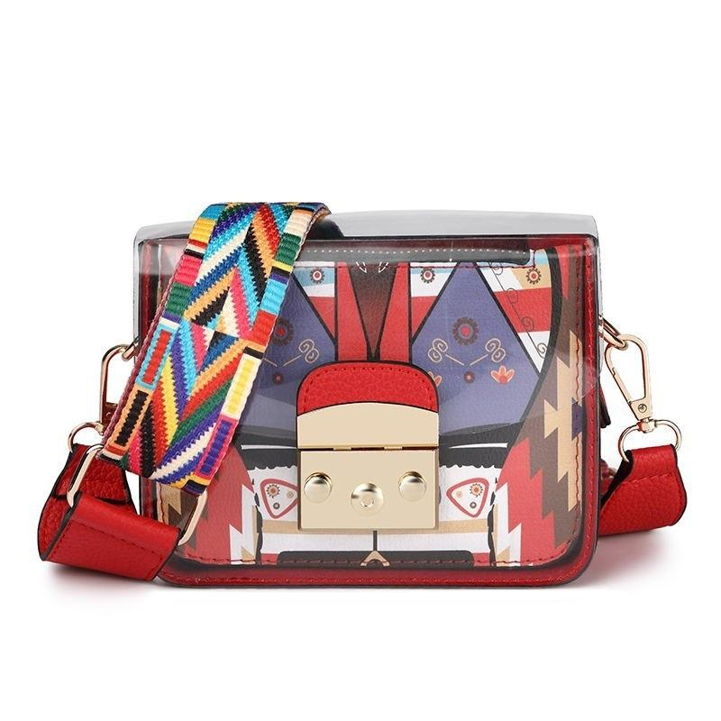 8a2289d929a9 2019 New Fashion Women Handbags Transparent Messenger Bag Trend Shoulder Bag  Casual Woman Composite Bag Best Messenger Bags Handbags Brands From  Keeping08