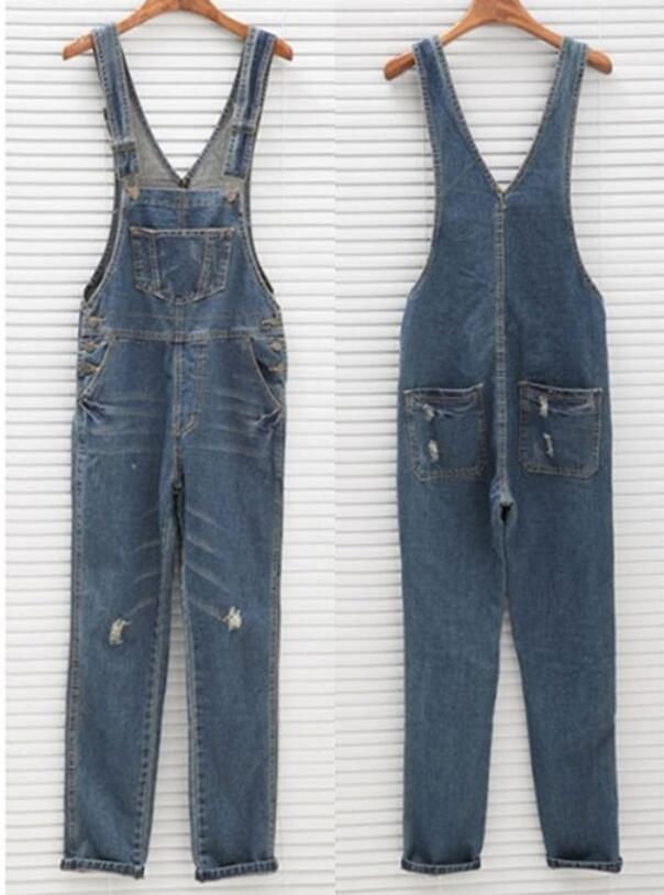6a900958df6 OL Overalls for Women Jeans Overalls Jeans Casual Loose Full Length ...