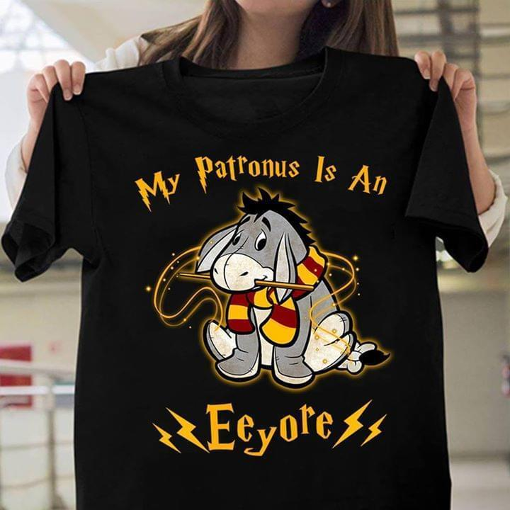 0b1ff002 Harry Potter My Patronus Is An Eeyore T Shirt Black Cotton Men Shirt All  Shirts Ridiculous T Shirts From Happytshirt53, $11.58| DHgate.Com