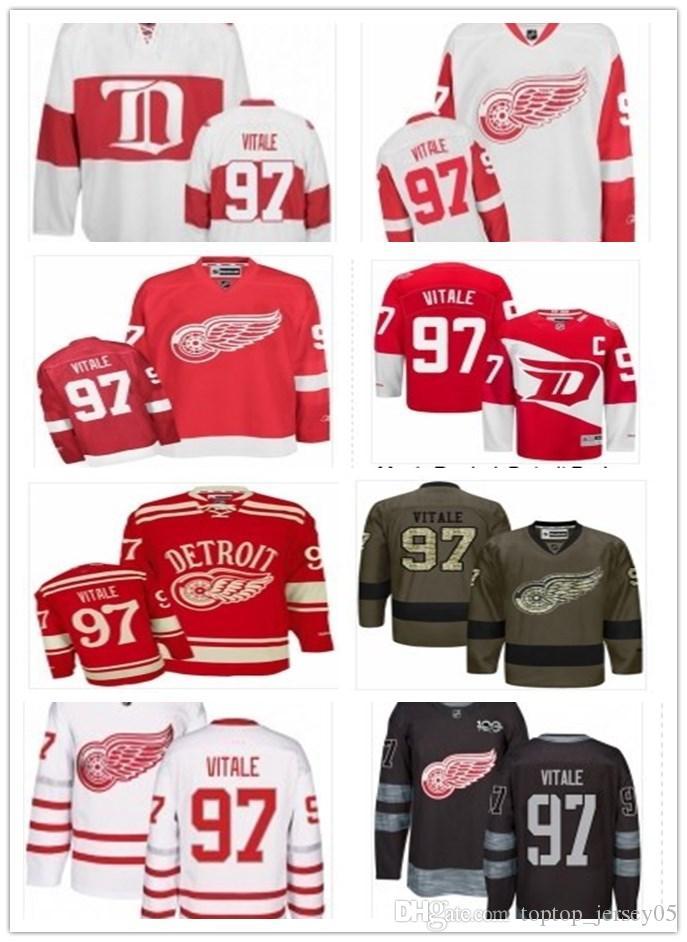 reputable site 71df8 00b0c can Detroit Red Wings Jerseys #97 Joe Vitale Jerseys men#WOMEN#YOUTH#Men's  Baseball Jersey Majestic Stitched Professional sportswear